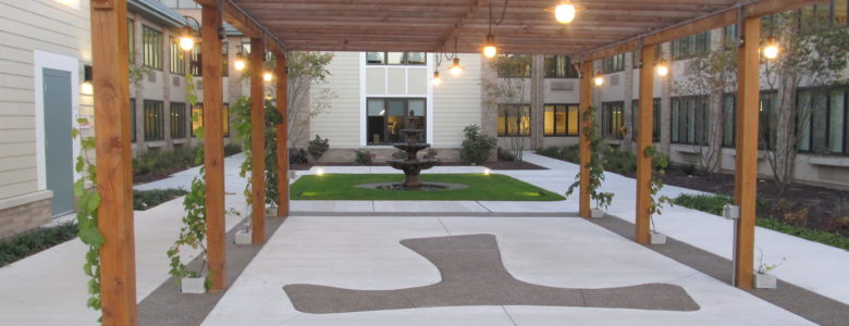 See Our New Rehabilitation Courtyard
