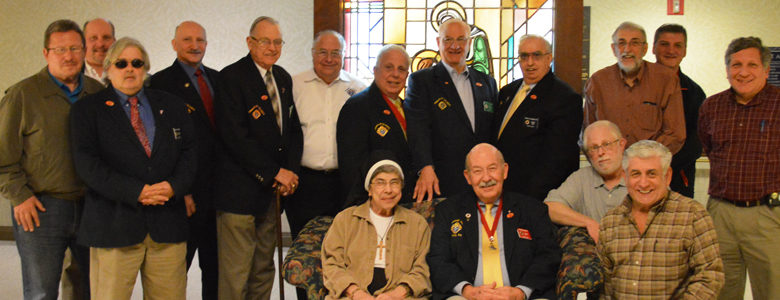 A Visit from the Greensburg Diocesan Chapter of the Knights of Columbus